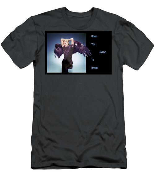 Dare To Dream Men's T-Shirt (Athletic Fit)