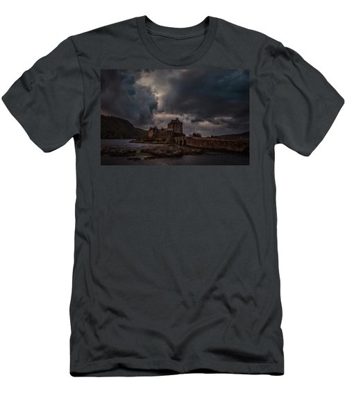 Dark Clouds #h2 Men's T-Shirt (Athletic Fit)