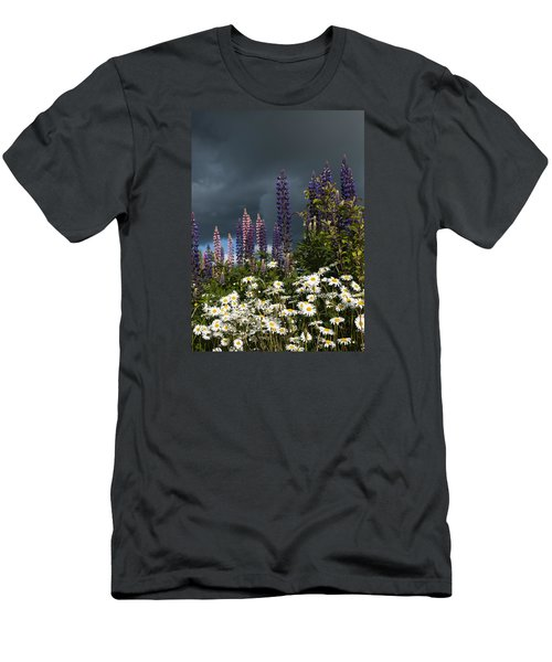 Dark Clouds Men's T-Shirt (Athletic Fit)