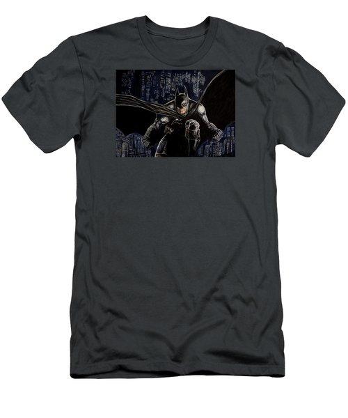 Dark Knight Men's T-Shirt (Athletic Fit)
