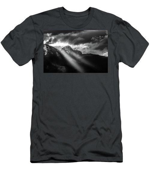 Dark Light Men's T-Shirt (Athletic Fit)