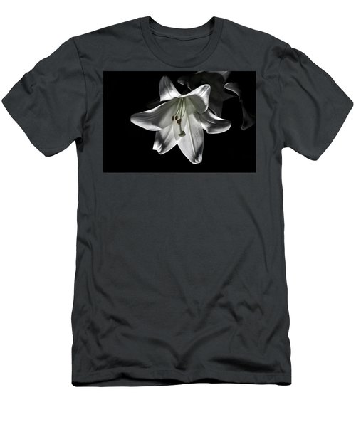 Dark Lilly Men's T-Shirt (Athletic Fit)