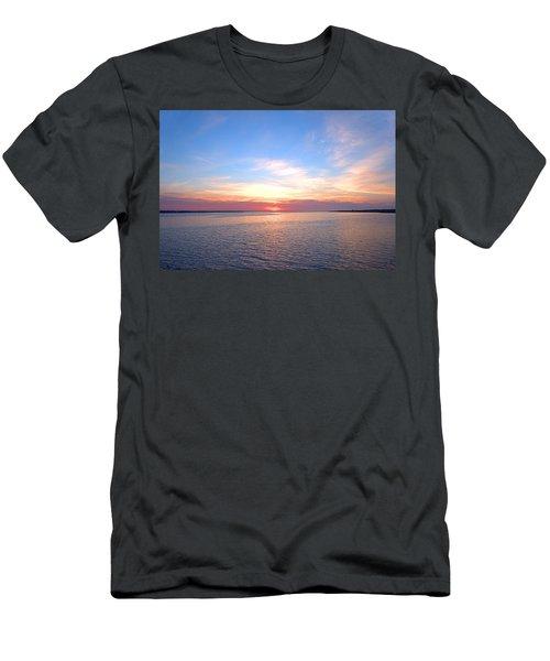 Dark Sunrise I I Men's T-Shirt (Slim Fit) by  Newwwman