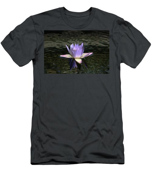 Dark Water Shimmering Men's T-Shirt (Athletic Fit)