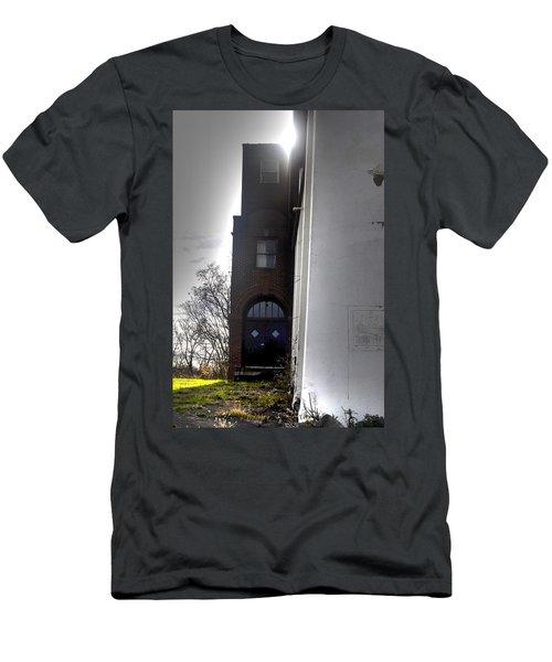 Darkened Door Men's T-Shirt (Athletic Fit)