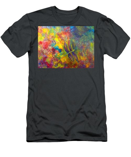 Darling Dragonfly Men's T-Shirt (Athletic Fit)