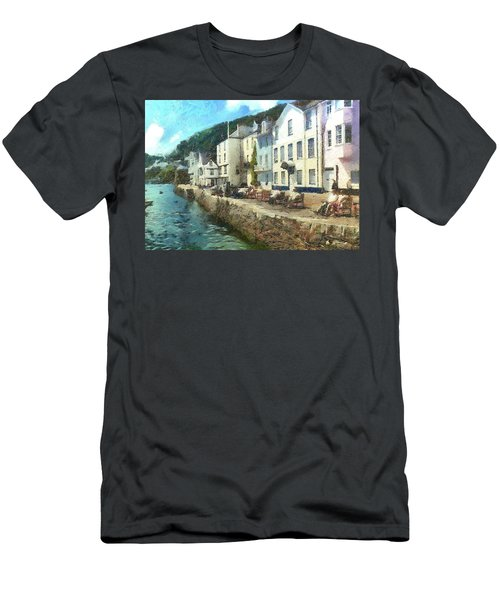 Bayards Cove Dartmouth Devon  Men's T-Shirt (Athletic Fit)