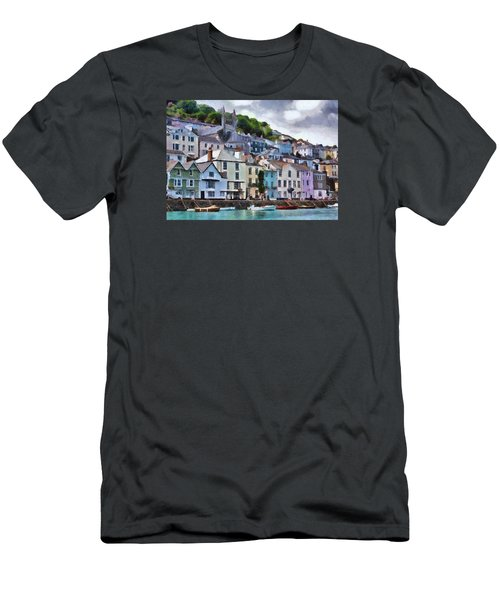 Men's T-Shirt (Slim Fit) featuring the digital art Dartmouth Devon by Charmaine Zoe