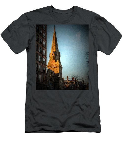 Dartmouth Street In Boston Men's T-Shirt (Athletic Fit)