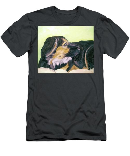 Date With Paint Sept 18 1 Men's T-Shirt (Slim Fit) by Ania Milo
