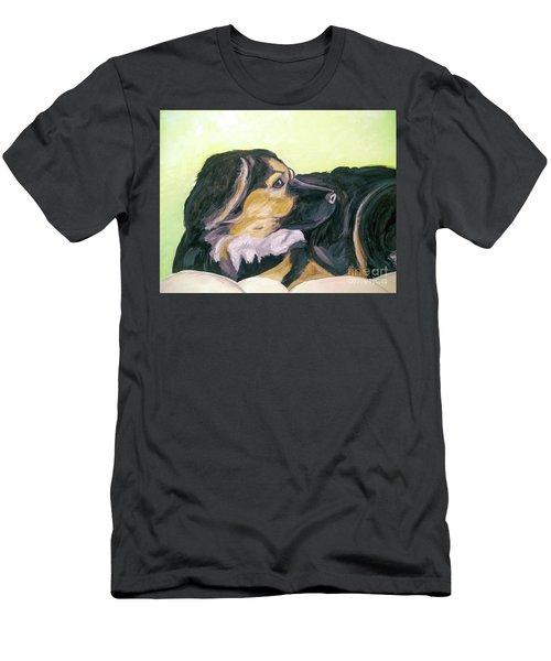 Date With Paint Sept 18 1 Men's T-Shirt (Athletic Fit)