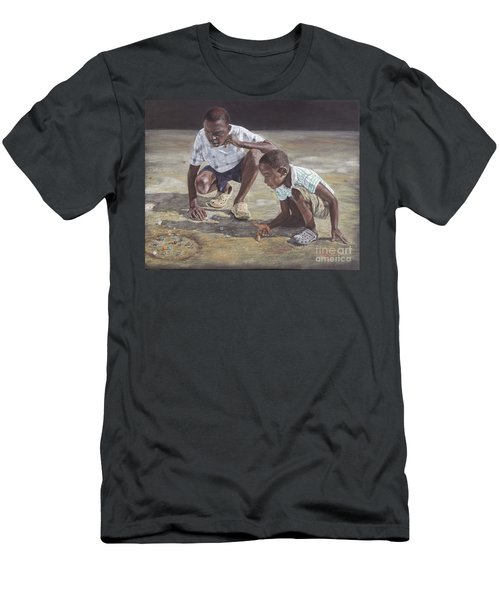 David And Goliath Men's T-Shirt (Athletic Fit)