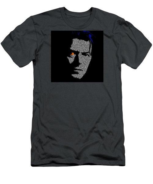 David Bowie 1 Men's T-Shirt (Slim Fit) by Emme Pons