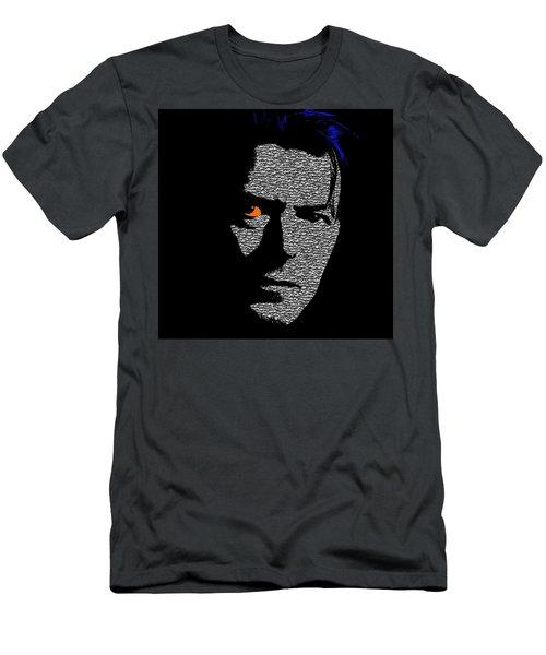 David Bowie 1 Men's T-Shirt (Athletic Fit)