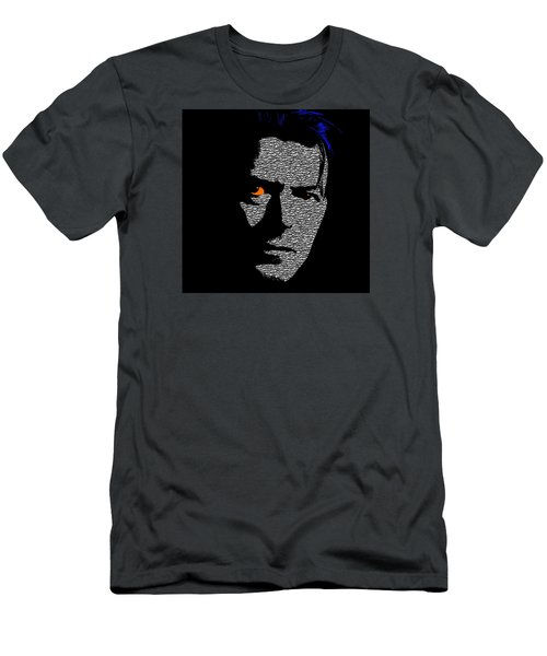 David Bowie 1 Men's T-Shirt (Athletic Fit)