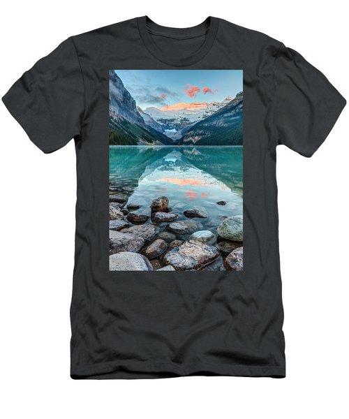 Dawn At Lake Louise Men's T-Shirt (Athletic Fit)