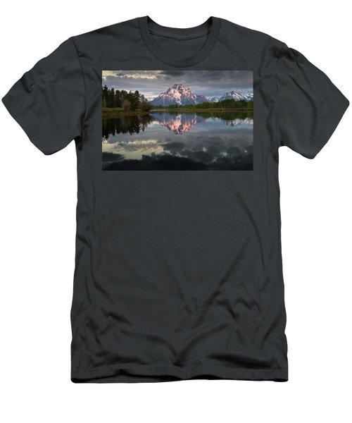 Dawn At Oxbow Bend Men's T-Shirt (Athletic Fit)