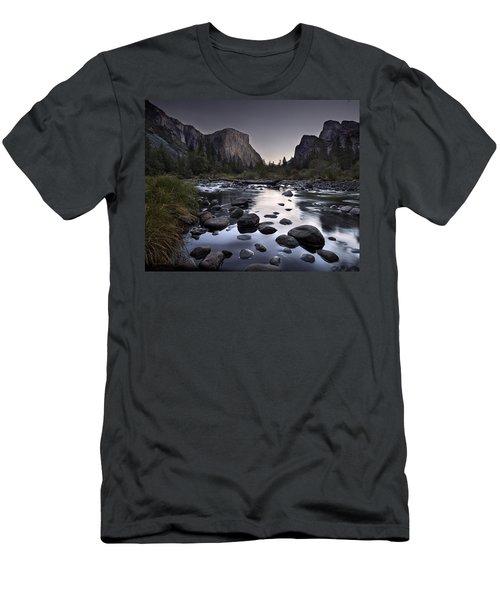 Dawn At Yosemite Gate Men's T-Shirt (Athletic Fit)