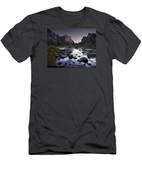 Dawn At Yosemite Gate Men's T-Shirt (Athletic Fit)