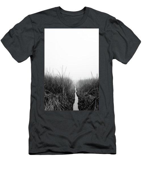 Dawn On Back Bay  Men's T-Shirt (Athletic Fit)