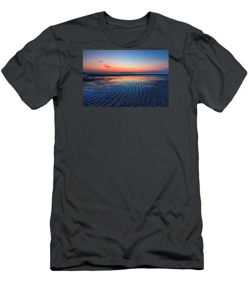 Men's T-Shirt (Slim Fit) featuring the photograph Dawn Ripples by Alan Raasch