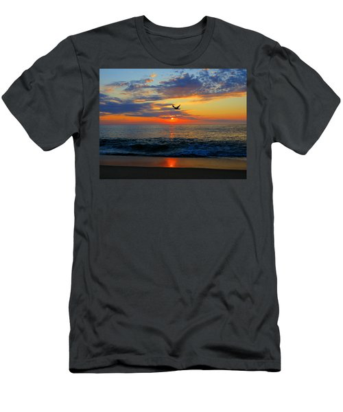 Dawning Flight Men's T-Shirt (Athletic Fit)