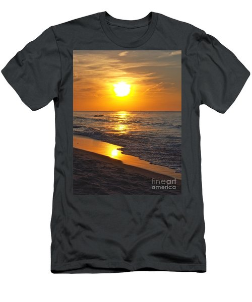 Day Is Done Men's T-Shirt (Slim Fit) by Pamela Clements