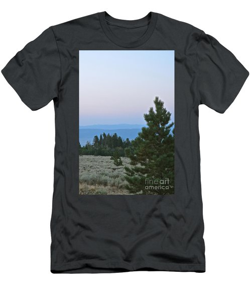 Daybreak On The Mountain Men's T-Shirt (Athletic Fit)