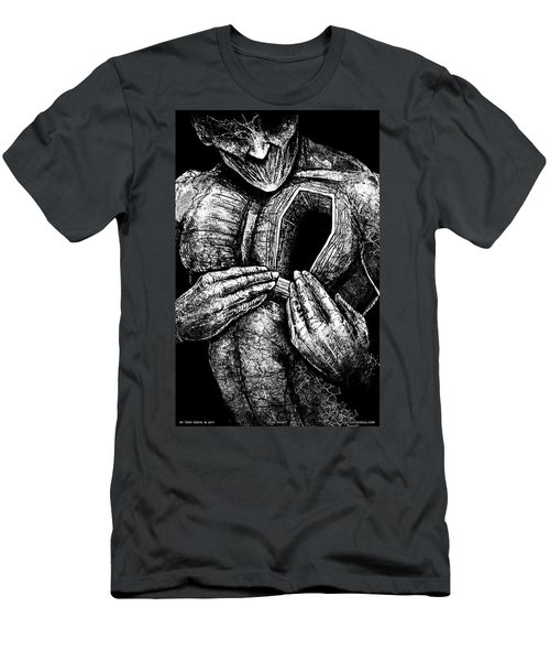 Dead Heart Men's T-Shirt (Athletic Fit)