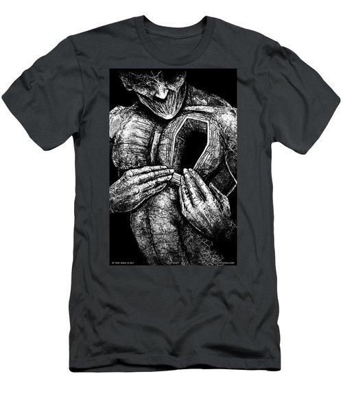 Dead Heart Men's T-Shirt (Athletic Fit)