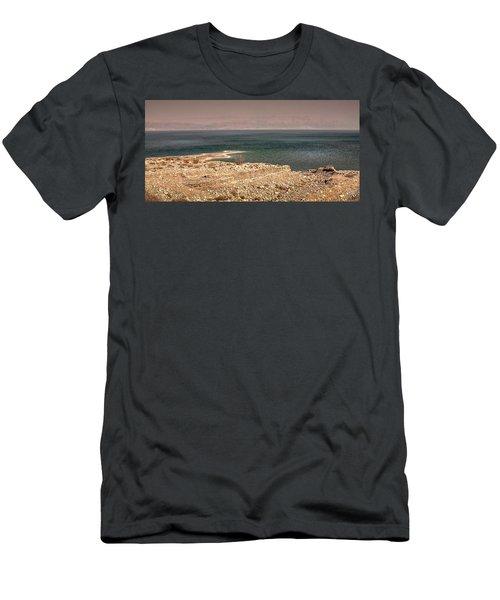 Dead Sea Coastline 1 Men's T-Shirt (Athletic Fit)