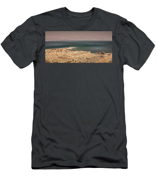 Dead Sea Coastline 1 Men's T-Shirt (Athletic Fit)