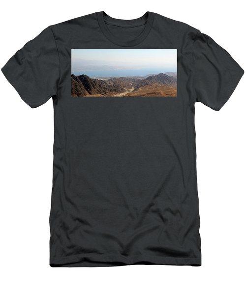 Dead Sea-israel Men's T-Shirt (Slim Fit)