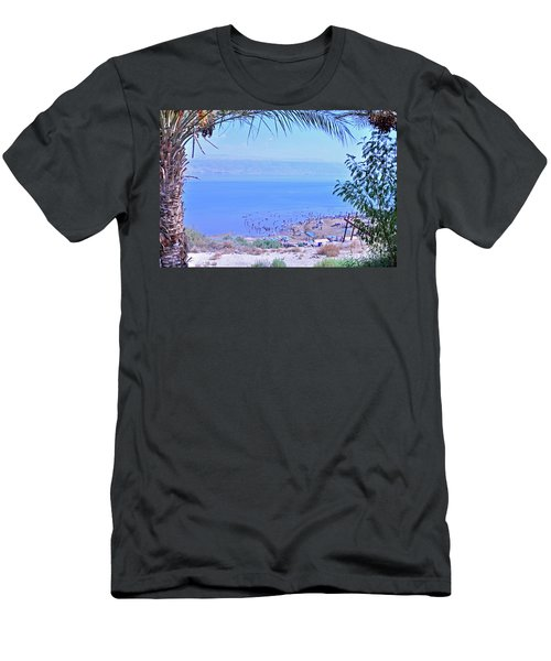 Dead Sea Overlook 2 Men's T-Shirt (Athletic Fit)