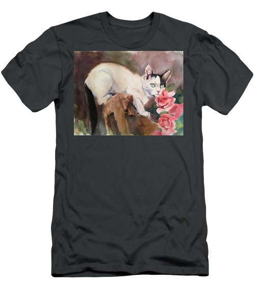 Deano In The Roses Men's T-Shirt (Athletic Fit)