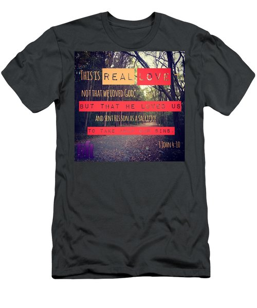 Dear Friends, Let Us Continue To Love Men's T-Shirt (Athletic Fit)