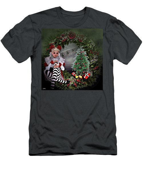 Dear Santa 005 Men's T-Shirt (Athletic Fit)