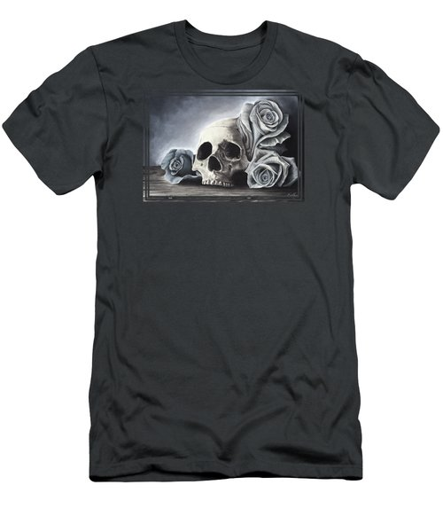 Death By The Rose Men's T-Shirt (Athletic Fit)