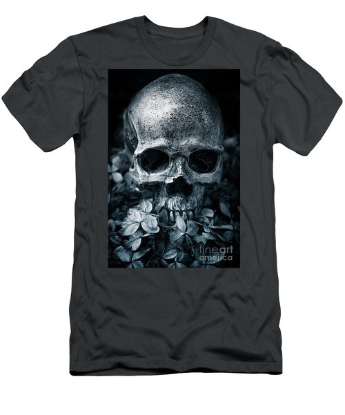 Men's T-Shirt (Athletic Fit) featuring the photograph Death Comes To Us All by Edward Fielding