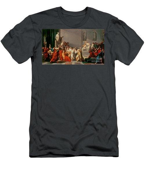 Death Of Julius Caesar Men's T-Shirt (Athletic Fit)