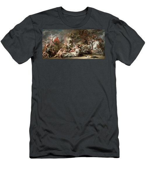 Death On The Pale Horse Men's T-Shirt (Athletic Fit)