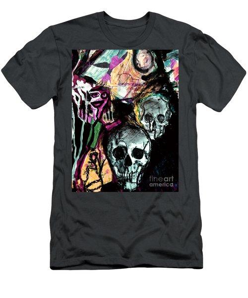 Death Study-2 Men's T-Shirt (Athletic Fit)