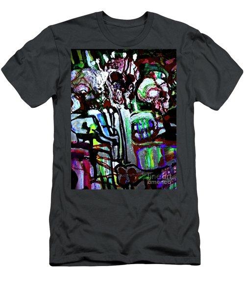 Death Study-3 Men's T-Shirt (Athletic Fit)