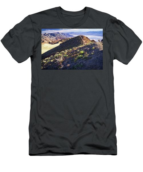 Death Valley At Spring Men's T-Shirt (Athletic Fit)