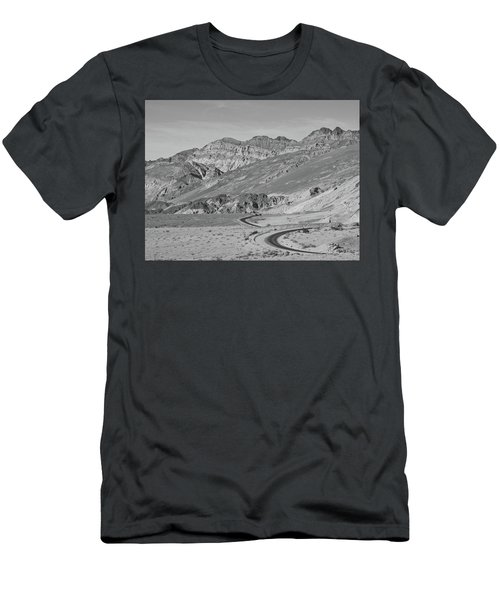 Men's T-Shirt (Athletic Fit) featuring the photograph Death Valley Road by Frank DiMarco