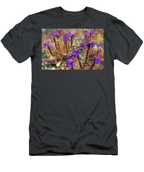 Death Valley Superbloom 106 Men's T-Shirt (Slim Fit) by Daniel Woodrum