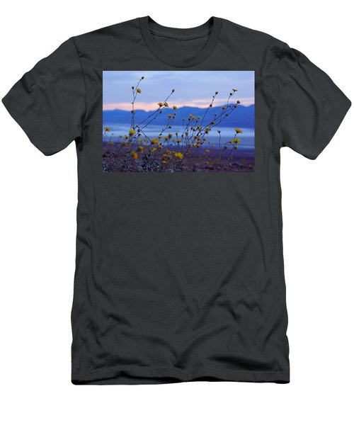 Death Valley Superbloom 304 Men's T-Shirt (Slim Fit) by Daniel Woodrum