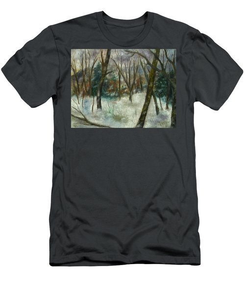December On Cooper Hill Men's T-Shirt (Athletic Fit)