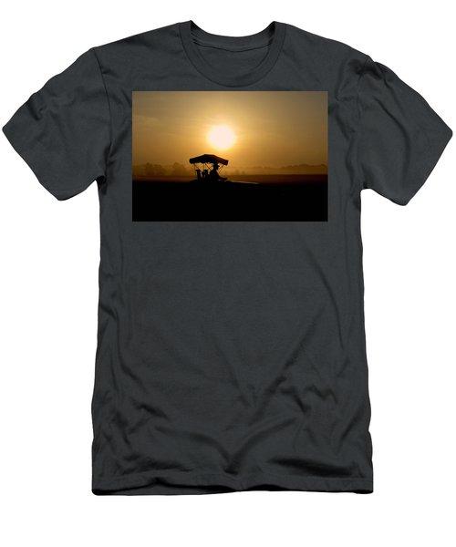 Dedication Of A Farmer Men's T-Shirt (Athletic Fit)