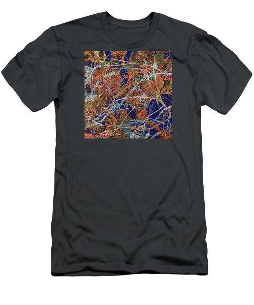 Deep Blue  Men's T-Shirt (Athletic Fit)